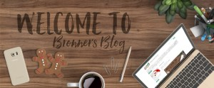 Welcome to Bronner's Blog