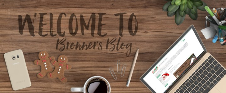Welcome to Bronner's Blog