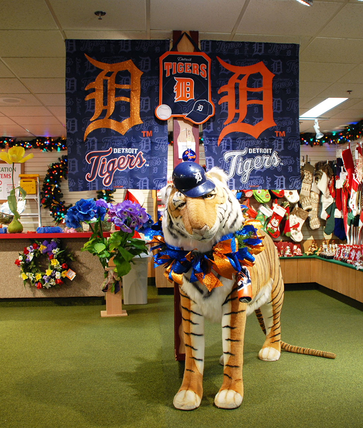 Detroit Tiger Display