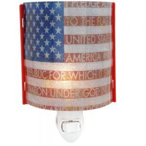 American Flag Patriotic Nightlight