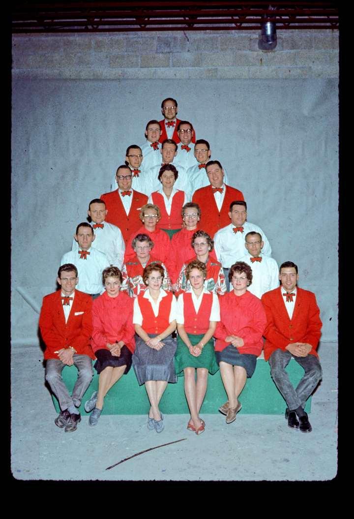 Bronner staff photo 1962