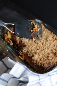 Pumpkin square In Pan