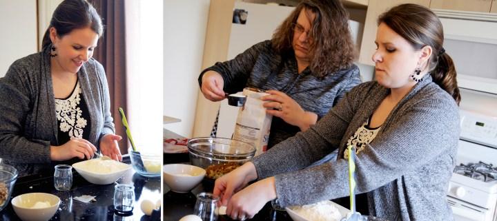 Baking Apple Coffee Cake, Ingredients
