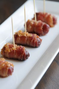 Bacon Wraps Plated