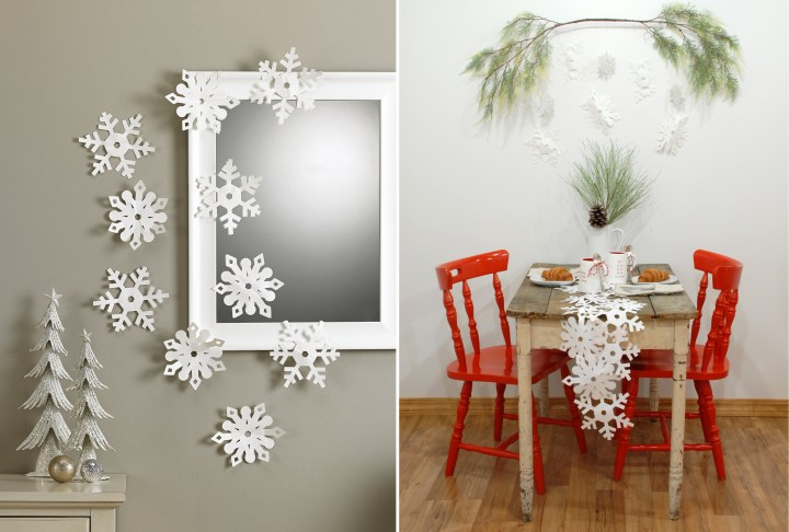 Paper Snowflake Decorations 1194279