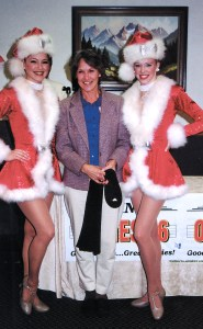 Bronner's Christmas Wonderland's Rockettes Kick Contest Winner
