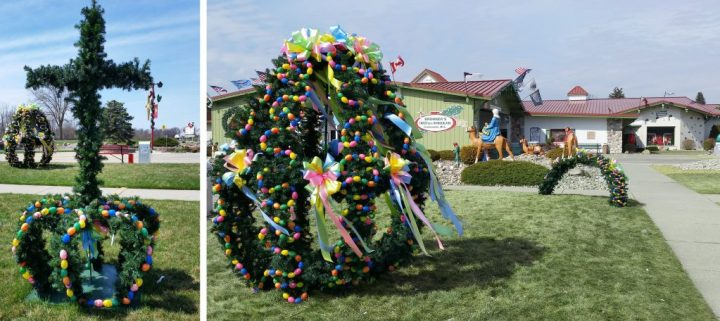 Bronner's Easter Egg Decorations In Spring