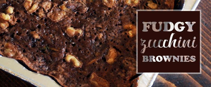 Sneaky As Santa Claus – Fudgy, Zucchini Brownies Recipe