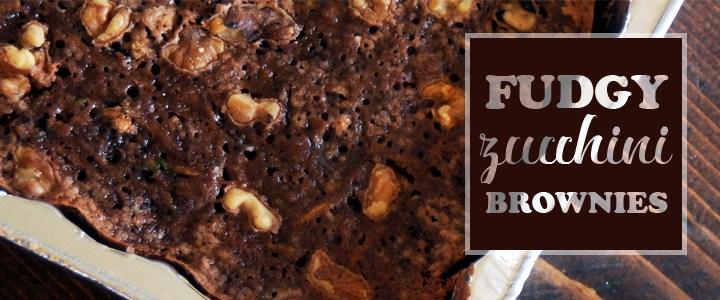Fudgy Zucchini Brownies Recipe