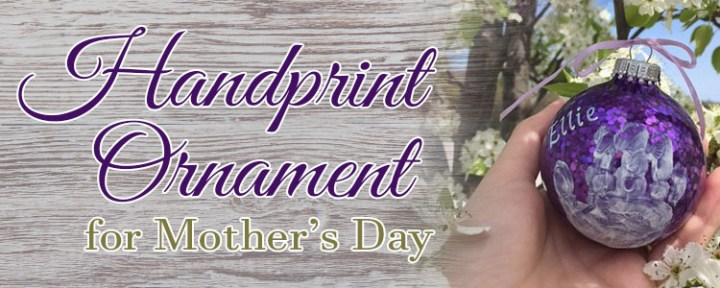 Diy painted hand print ornament for mothers day bronners blog okay im going to start off by saying that i had the best intentions to show you three perfect do it yourself hand print ornaments for mothers day solutioingenieria Choice Image