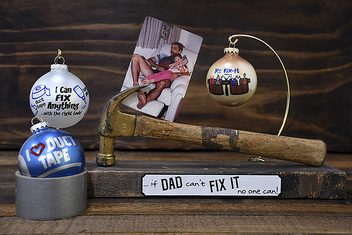 Handy Man Photo Frame Father's Day DIY gift