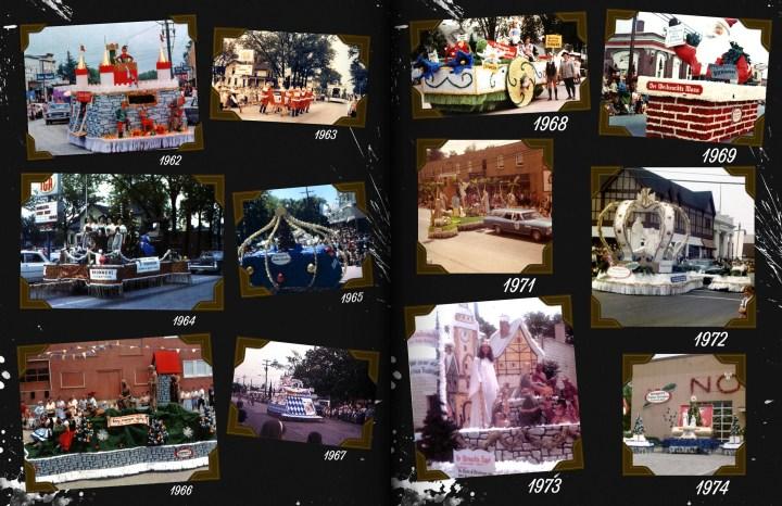 Bronner's Bavarian Festival Parade Floats, 1962-1974.