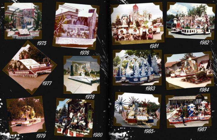 Bronner's Bavarian Festival Parade Floats, 1975-1987.