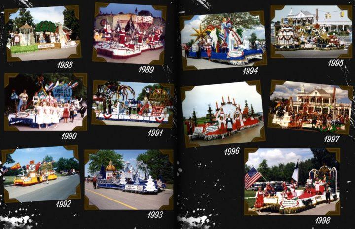 Bronner's Bavarian Festival Parade Floats, 1988-1998.