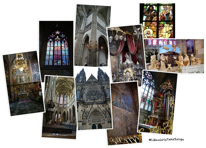 Gothic French cathedral, St. Vitus; Prague, Czech Republic