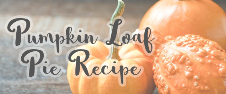 Pumpkin Loaf Pie Recipe