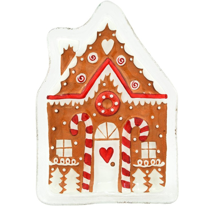 Gingerbread House Serving Plate