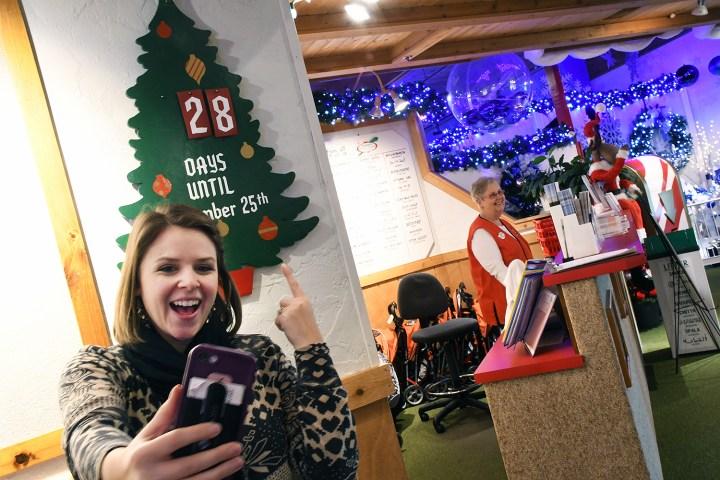Bronner's Christmas Wonderland's Vintage Christmas Countdown Near The South Entrance