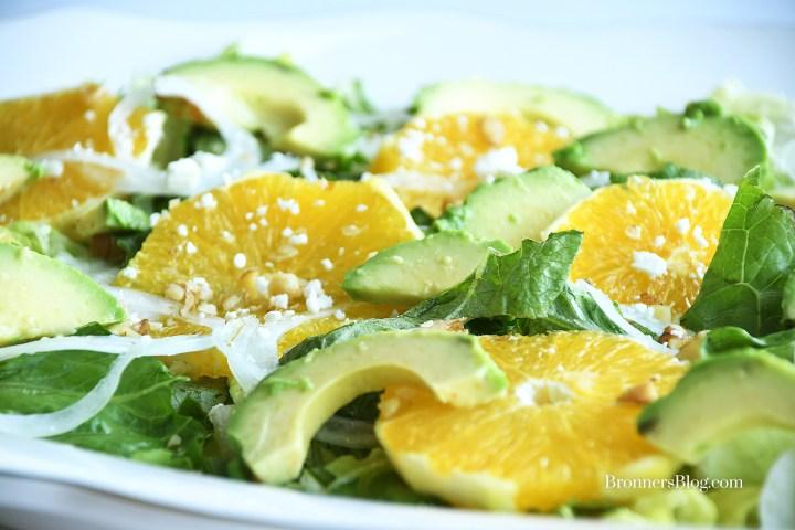 Avocado And Orange Salad