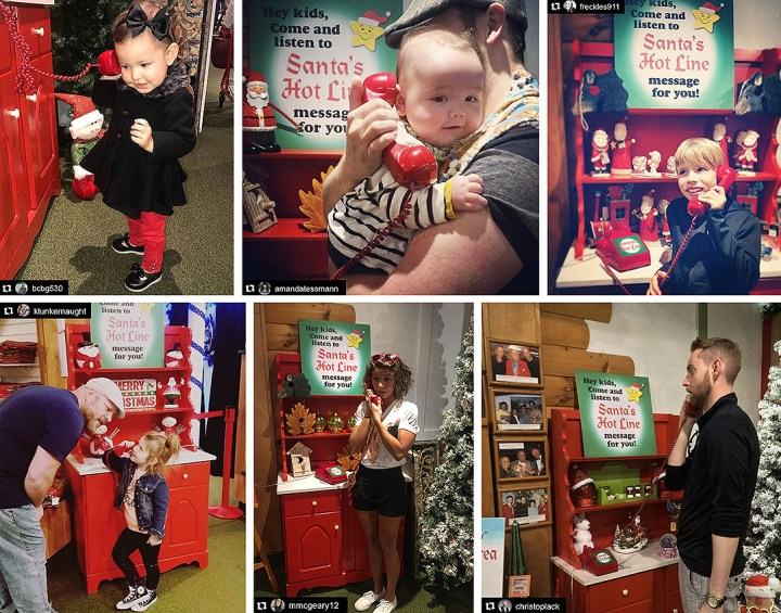 Bronner's Red Telephone, Known As Santa's Hotline, Is A Delight For Guests Of All ages.