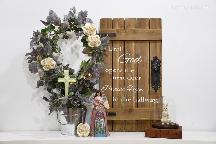 DIY Topiary Religious Home Decor