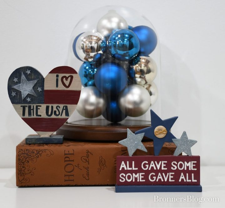 """I Love The USA and """"All Gave Some Some Gave All"""" Home Decor"""