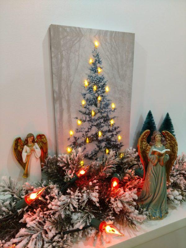 Vintage Christmas Decorations 1950s.Diy Bottle Brush Trees For Vintage Christmas Decorations