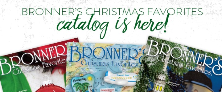 Is Bronner's Christmas Catalog Coming to YOUR Mailbox?
