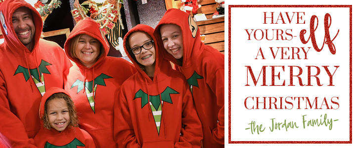 The Jordans Have ThemsELVES A Very Merry Christmas At Bronner's!