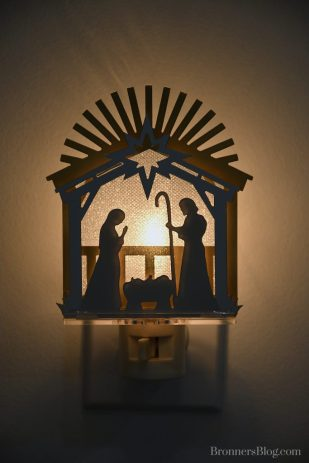 Nativity Night Light.