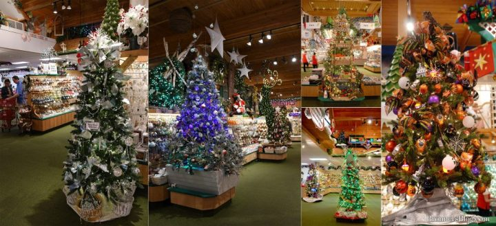 Every decorated tree at Bronner's Christmas Wonderland in Frankenmuth, Michigan features at least one nativity ornament!