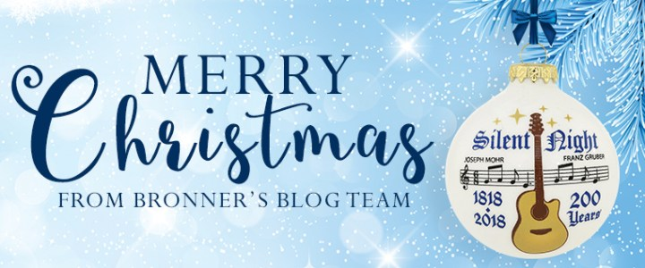 Merry CHRISTmas from Bronner's Blog Team