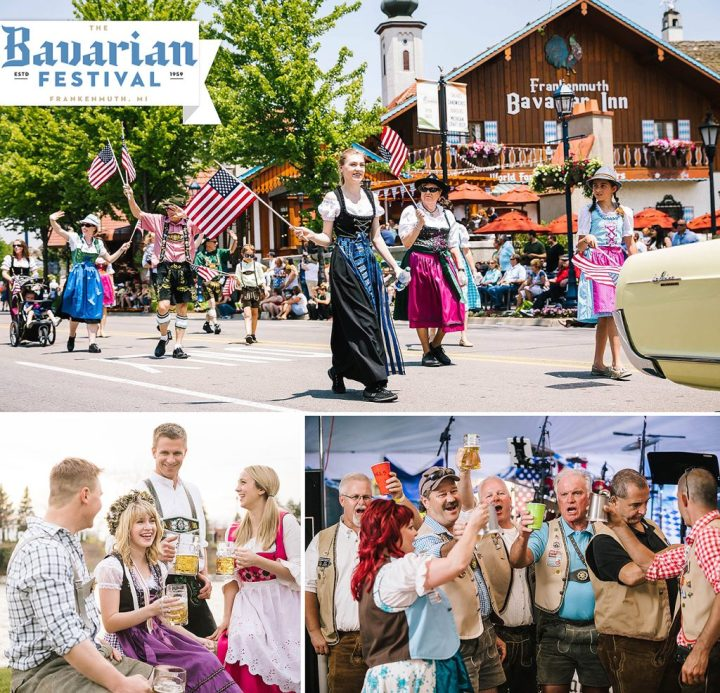 Frankenmuth, Michigan's Bavarian Festival event photos.
