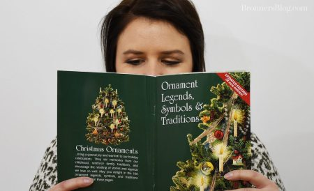 Bronner's ornament legends, symbols & traditions book with custom art.