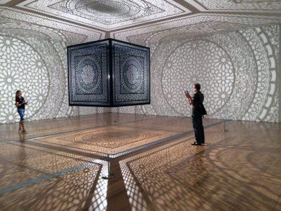 "Anila Quayyum Agha's winning Art Prize exhibition, ""Intersections"""