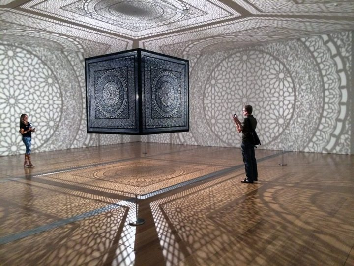 "Anila Quayyum Agha's winning Art Prize exhibition, ""Intersections"""