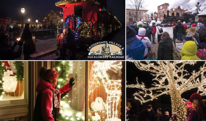 Christmas At Crossroads Village in Genesee County