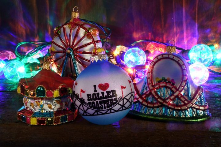 Carnival Ride Christmas Ornaments from Bronner's Christmas Wonderland