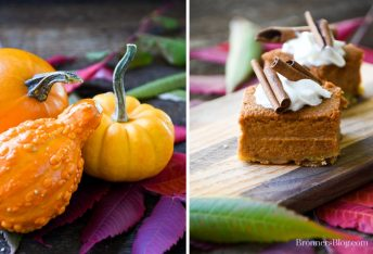 Pumpkin and Pumpkin Loaf Pie