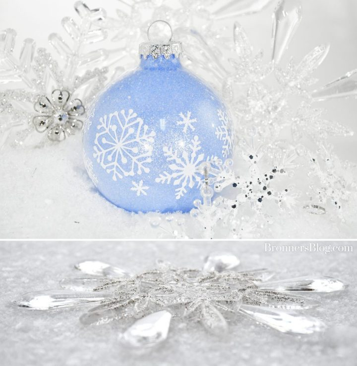 Snowflake Ornaments from Bronner's Christmas Wonderland