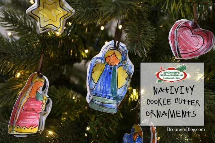 Bronner's Nativity Cookie Cutter Ornaments Tutorial