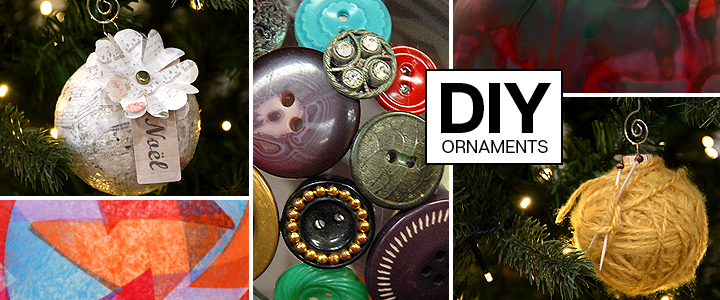 DIY Ornament Tutorials FRom Bronner's CHRISTmas Wonderland