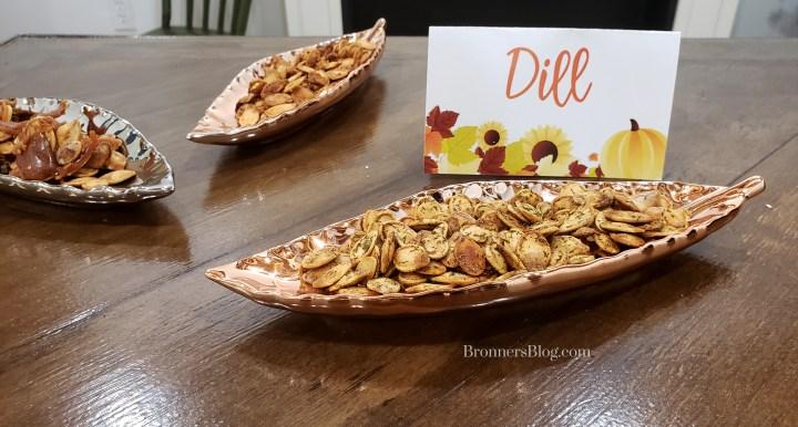 Dill Roasted Pumpkin Seeds