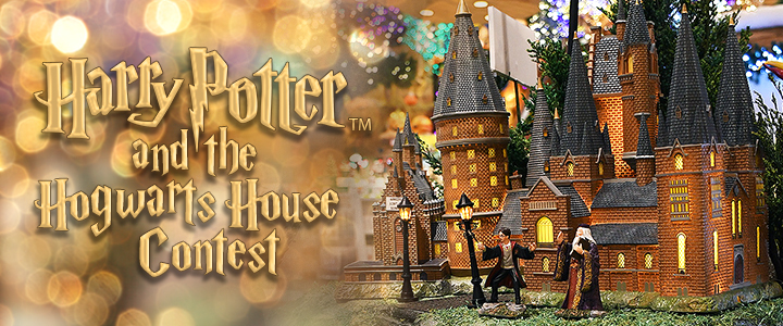 Harry Potter and the Hogwarts House Contest - Hogwarts Great Hall Dept. 56 village piece