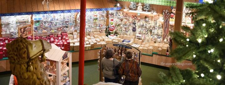 Jim Shore Display at Bronner's CHRISTmas Wonderland in Frankenmuth, Michigan.