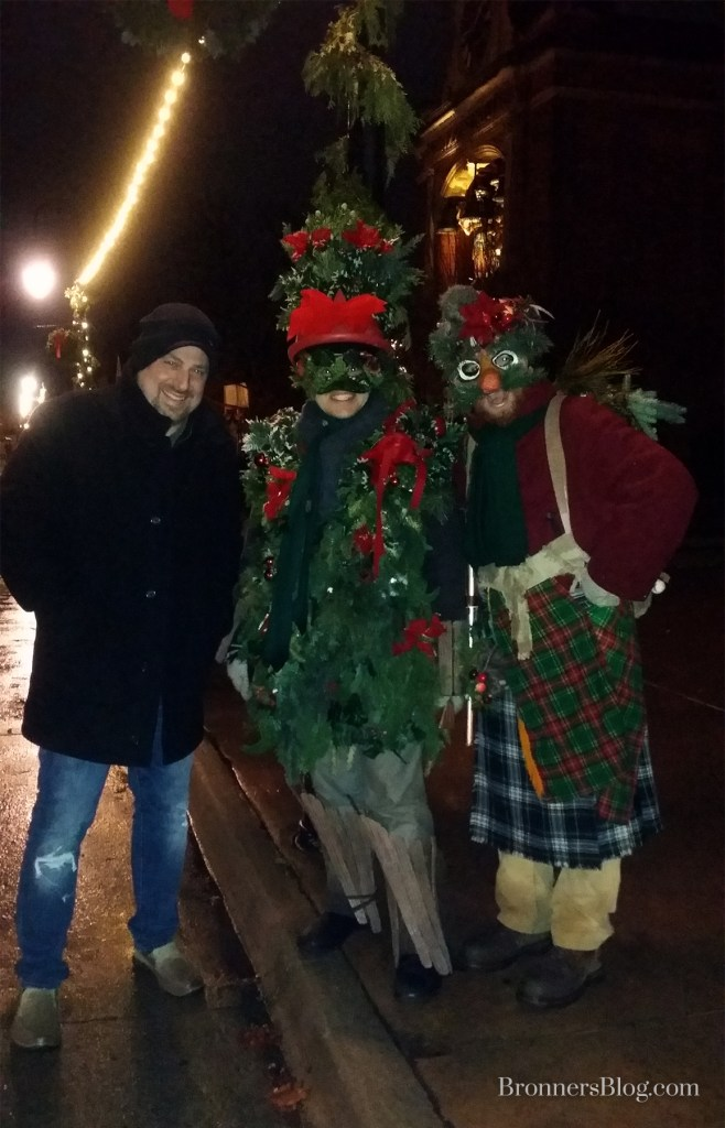 Christmas Mummers at The Henry Ford Greenfield Village Holiday Nights
