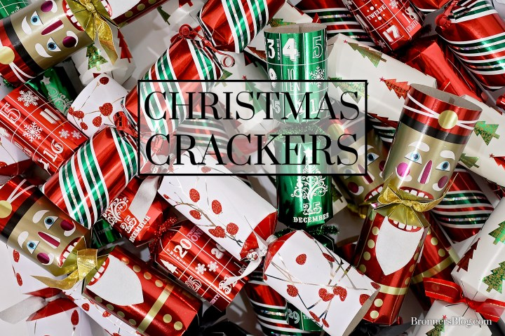 Christmas crackers are sold at Bronner's CHRISTmas Wonderland.