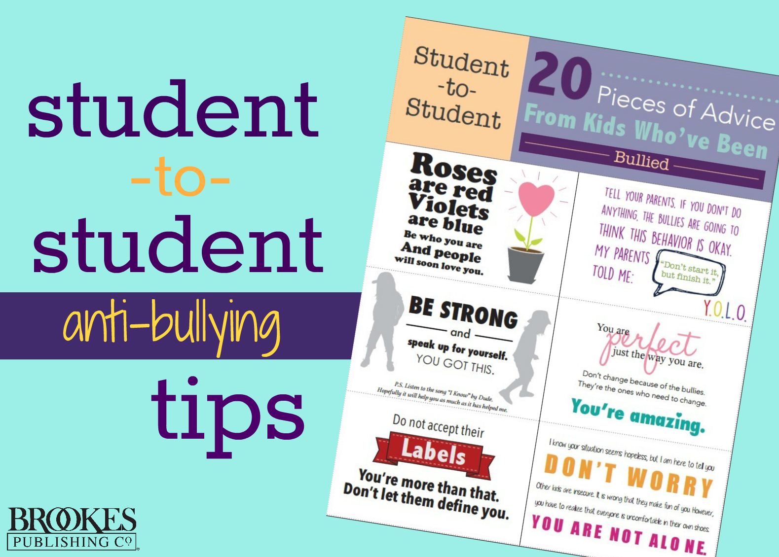 Free Printable Anti Bullying Cards For Your Students