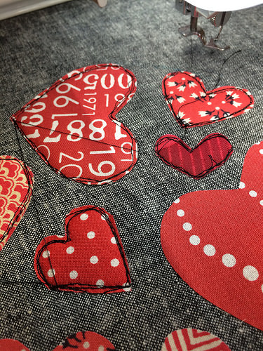 Heart of Hearts stitching - 8