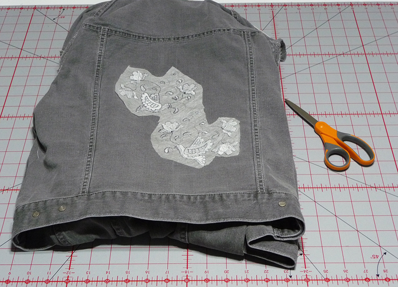 Free Design of the Month Jean Jacket